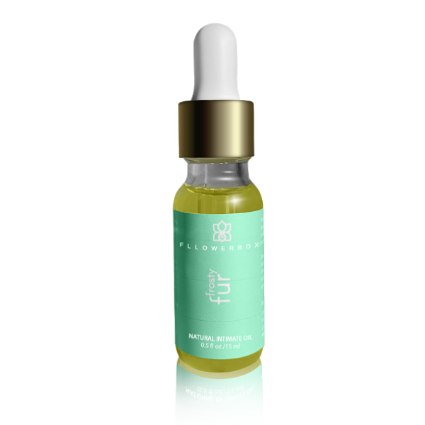 frosty fur natural intimate oil